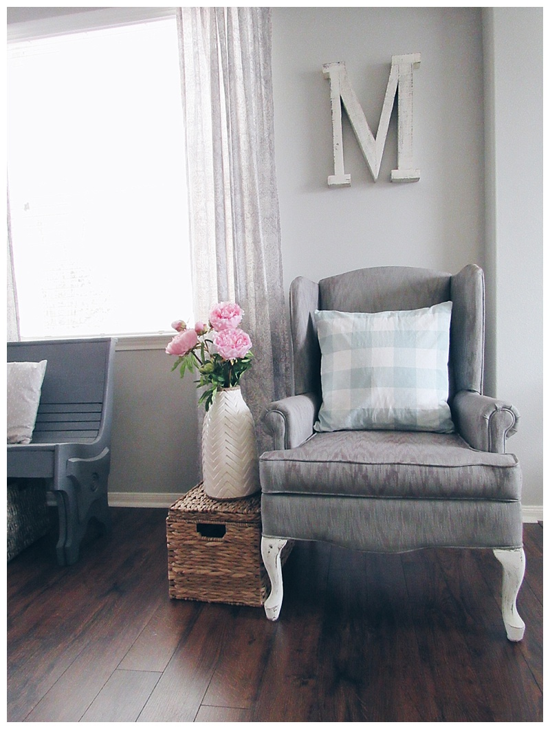 Pleasing Painting Upholstery With Chalk Paint The Blooming Nest Machost Co Dining Chair Design Ideas Machostcouk