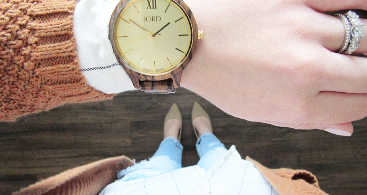 jord watch wood outfit