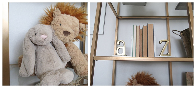 gender-neutral-nursery-gold-shelves