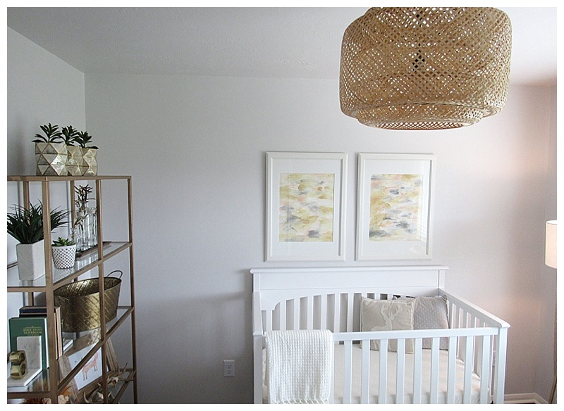 Gender Neutral Nursery Light Fixture