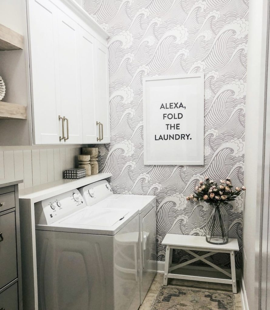 Laundry Room Makeover With Rocky